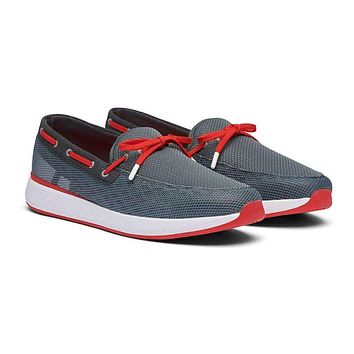 Breeze Wave Lace Boat Shoe by SWIMS