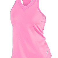 JoFit Ladies Tennis Betsy Tank Tops - Manhattan Beach (Bubble Gum/Pink)