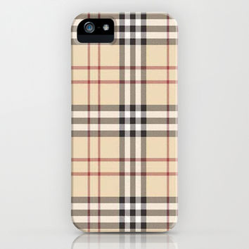 Burberry iPhone & iPod Case by PinkBerryPatterns