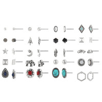 Decree 18-pc. Blue Earring Sets - JCPenney
