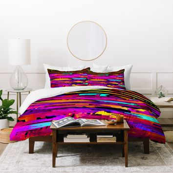 Holly Sharpe Colorful Chaos 2 Duvet Cover