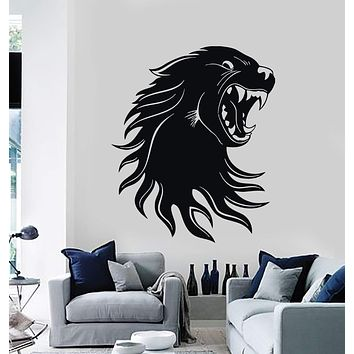 Wall Stickers Vinyl Decal Cougar Panther Predator Animal Tribal Unique Gift (ig153)