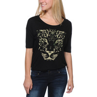 Lira Girls Spotted Black Tee Shirt at Zumiez : PDP