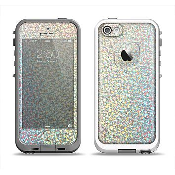 The Colorful Confetti Glitter copy Apple iPhone 5-5s LifeProof Fre Case Skin Set