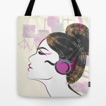 Music Overdose Tote Bag by Famenxt | Society6