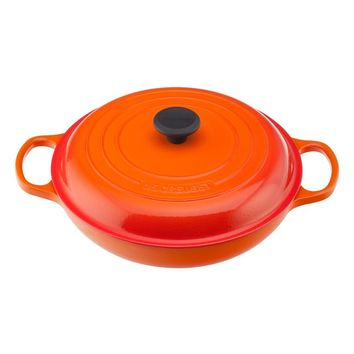 Le Creuset Signature 5 Quart Enameled Cast Iron Braiser | Nordstrom