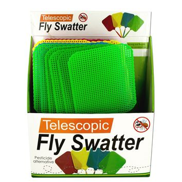 Giant Telescopic Fly Swatter Display Case Pack 6