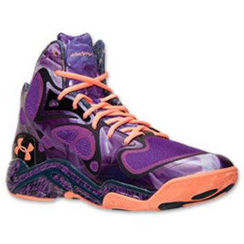 new product 01841 a3a8c Men s Under Armour Micro G Anatomix Spawn Basketball Shoes