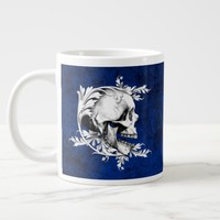 Skull Cameo 1 Large Coffee Mug