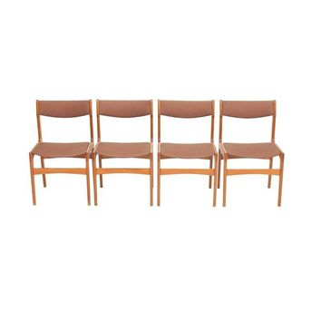 Pre-owned Danish MCM Teak Dining Chairs - Set of 4