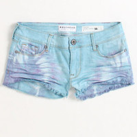 Tie Dye Fray Shorts FOLLOW ME @abbazaba