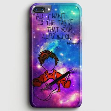 Ed Sheeran Guitar Galaxy iPhone 8 Plus Case | casescraft