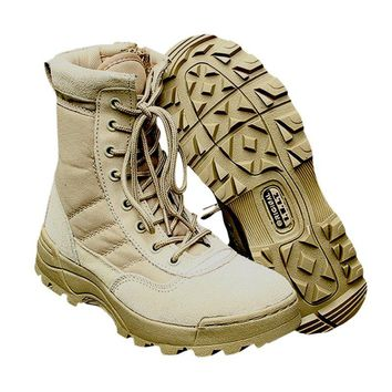 Sport Army Men's Tactical Boots Desert Outdoor Hiking Camping Military Enthusiasts Marine Male Combat Shoes Fishing Waders New