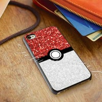 Pokemon Pokeball Sparkle - for iPhone 4/4s, iPhone 5/5S/5C, Samsung S3 i9300, Samsung S4 i9500 *ojoturuwaecok*