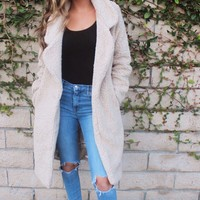 Teddy Faux Fur Trench Coat