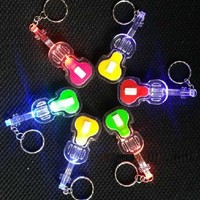 Violin Shaped Light Up Keychain - Home & Office - FeelGift