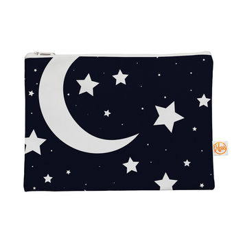 "KESS Original ""Moon & Stars"" Black White Everything Bag"
