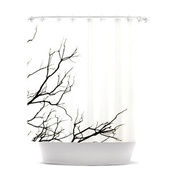 "Skye Zambrana ""Winter"" Shower Curtain"