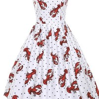 You Appear To Have a Lobster On Your Dress