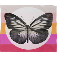 Garima Dhawan Flight 1 Fleece Throw Blanket
