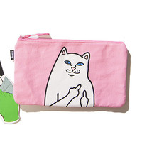 RIPNDIP Lord Nermal Pink Clutch Bag