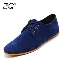 ZOQI Sneakers Mens Shoes Casual Flock Black Shoes For Men Footwear Loafers Male Shoes Autumn 2018 Zapatos De Hombre