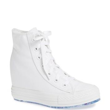 1a43bc03b5c8 Converse Chuck Taylor All Star  Platform Plus  Hidden Wedge High-Top  Sneaker (