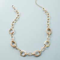 ideeli | CHELSEY HUFFMAN Pave Link Statement Necklace