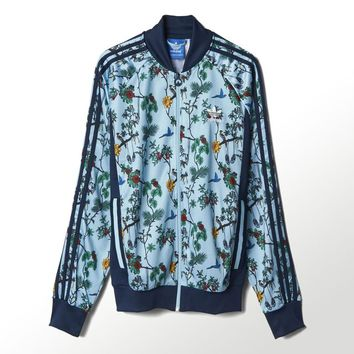 adidas ILSD Superstar Track Jacket - Blue | adidas US