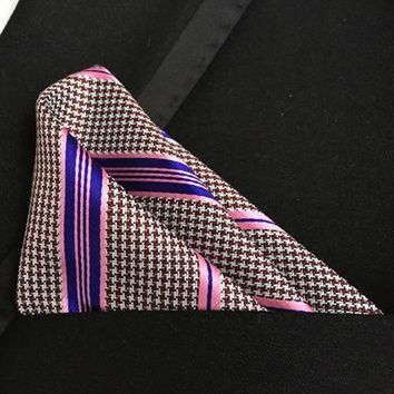 Men's Ties fashion pocket square high level