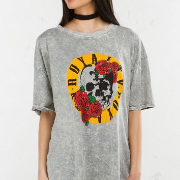 Graphic Tee in Grey