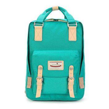 University College Backpack Fashion avant-garde doughnut Doughnut macaroon  female Oxford cloth   wind Korean travel sAT_63_4
