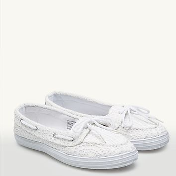 Crochet Boat Shoes