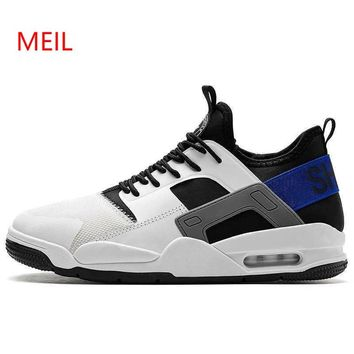 Vintage Sneakers 2018 Kanye West Fashion New Men Breathable Platform Casual Mesh Shoes Zapatillas Hombre Casual Tenis Masculino