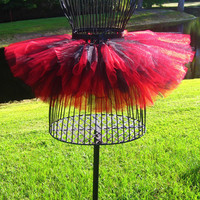 Custom Made (Made To Order) 1-2 Color Tutu-Kids-Children-(11-Adult)-Teen-Pink-Blue-Red-Black-Orange-costume-pageant-recital-Party-Rave