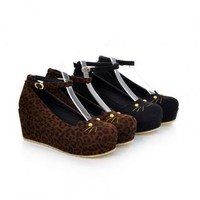 Cute Cat Wedge Shoes on Luulla