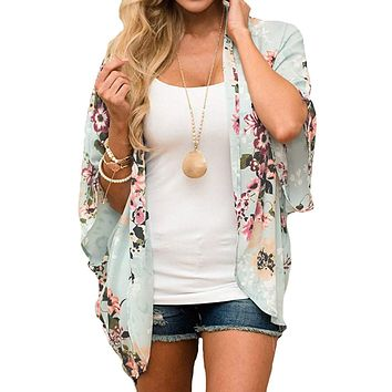 Cowgirl Romance Floral Print Cardigan Top