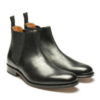 Grenson Declan Leather Chelsea Boot in Black