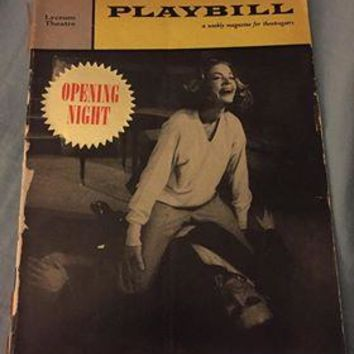 Goodbye Charlie Playbill