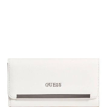 Lenora Slim Wallet at Guess
