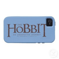 The Hobbit Logo Solid Tough iPhone 4 Cases from Zazzle.com