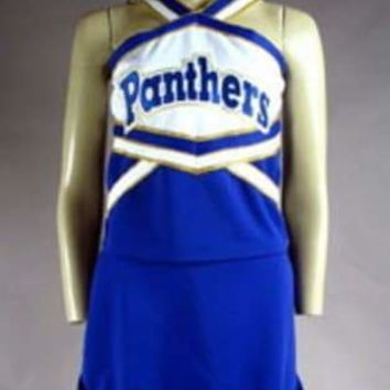 Friday Night Lights Panthers High School Cheerleader Uniform