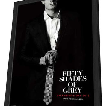 Fifty Shades of Grey 27x40 Framed Movie Poster (2015)