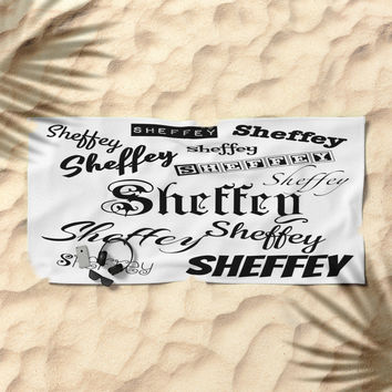Sheffey Fonts in Black Stationery Cards by Celeste Sheffey Of Khoncepts