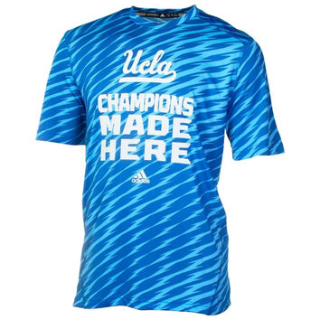 UCLA Bruins adidas Player Training Performance T-Shirt - True Blue