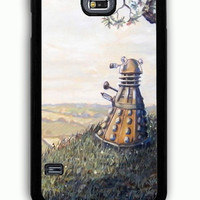Samsung Galaxy S5 Case - Rubber (TPU) Cover with A rather Dalek Afternoon Rubber Case Design