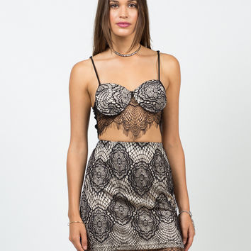 Delicate Lacey Padded Bralette