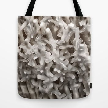 Celestite Frost Tote Bag by UMe Images