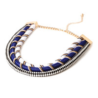 Rope Statement Necklace