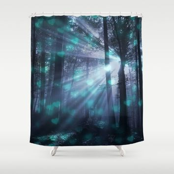 Wandering Souls Shower Curtain by Lena Photo Art
